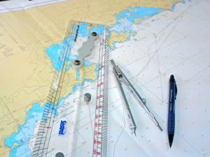 Régua paralela e compasso: Instrumentos básicos do Oficial de Náutica