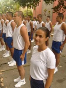 Candidata a aluna Foxtrot 01 Fernanda Lemos