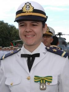 Condecorada com a Medalha Merito Tamandaré (13/12/2006)