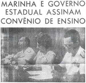 Marinha e Governo Estadual Assinam Convênio de Ensino