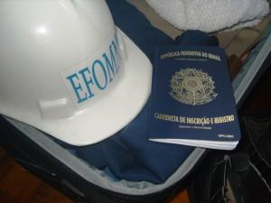 Com o EPI e a CIR na mala estamos prontos para embarcar