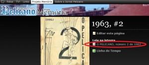 """Clique em """"Leia na íntegra"""" para folhear qualquer uma das edições impressas do Jornal"""