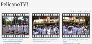 Página inicial do Pelicano TV