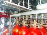 Compartimento de CO2 do AMALTHIA, note as paredes revestidas com isolante térmico: todas as salas do navio são assim