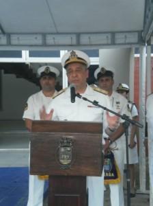 Discurso do Cmde da Marinha