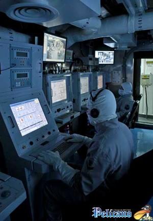 Centro de controle de uma corveta da Marinha: criação do IPqM