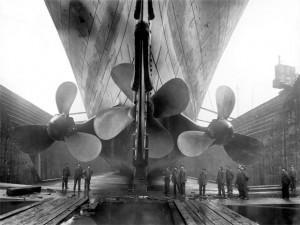 Propulsores do Titanic