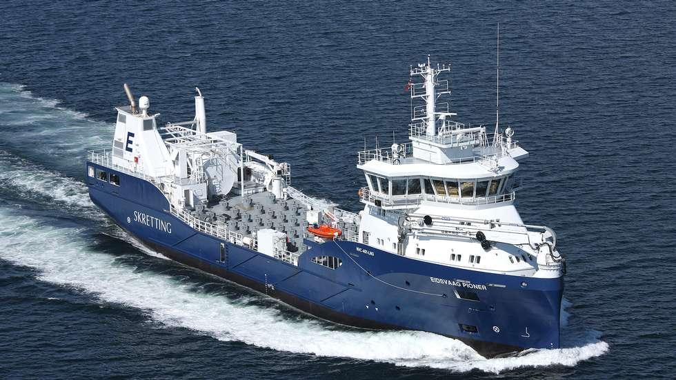 navio ecológico