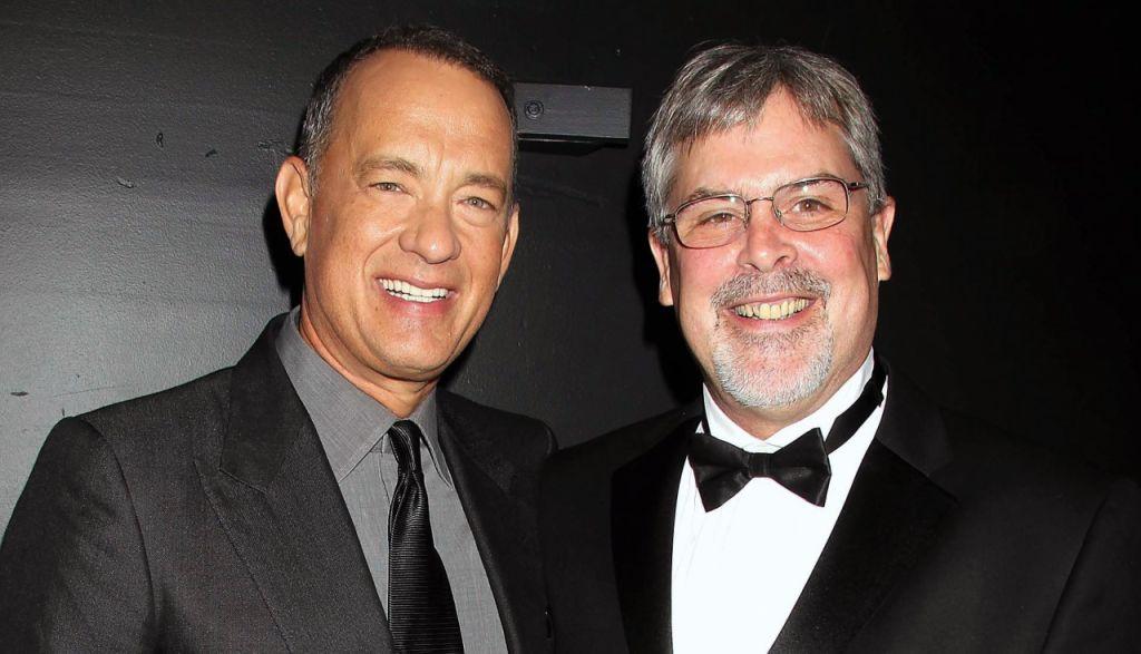 Tom Hanks e capitão Richard Phillips