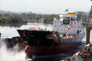 Lançamento do Navio Gaseiro 1 - Oscar Niemeyer